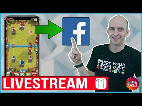 How to Livestream Your iPhone Screen Directly To Facebook [Beginner Guide]