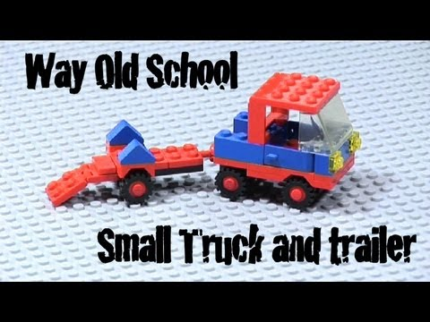 How to Build LEGO Small Truck and Trailer