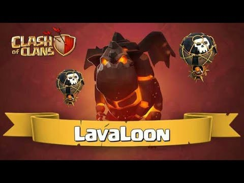Perfect Attack For Town hall 9 (TH9)  LavaLoon Strategy!