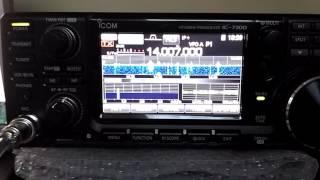 IC-7300 VS TenTec Corsair II CW DX - PakVim net HD Vdieos Portal