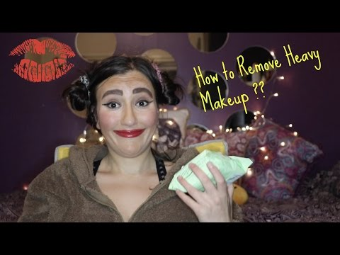 How to remove heavy makeup | 1 easy step