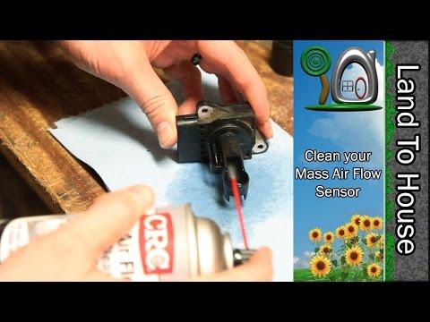 Clean your Mass Air Flow Sensor