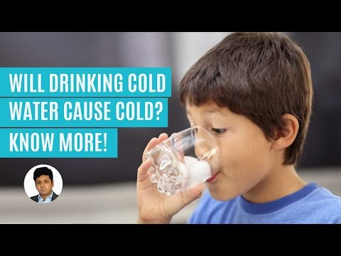 Myth Or Fact: Drinking Cold Water Causes Cold! Learn More!