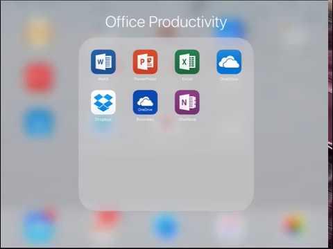 Office 365 on an iPad