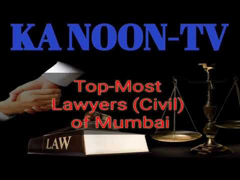 List of Top-Most Civil Lawyers (Sr. Advocates)