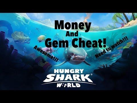 Hungry Shark World Gem And Money Cheat | CuteGirl Gaming