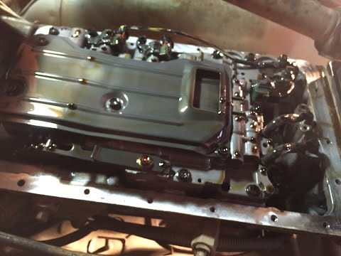 jeep transmission fluid and filter change