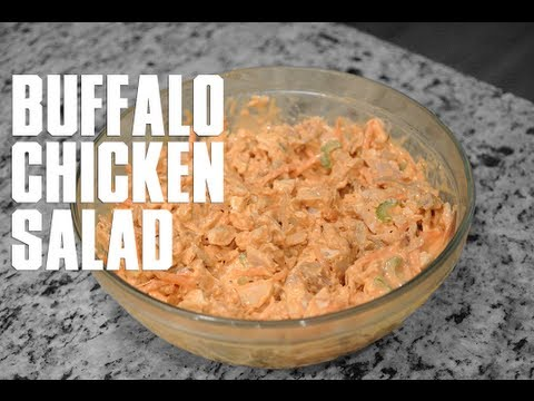 Healthy Buffalo Chicken Salad