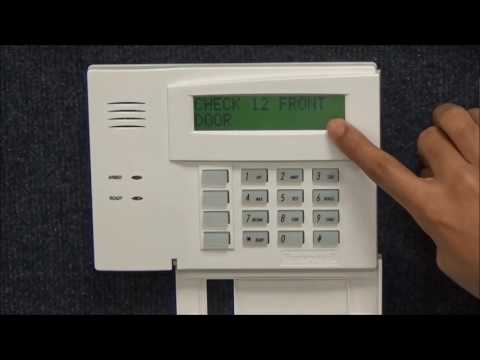 My Alarm Center - How to Check for Troubles & Clear Keypad for an Ademco/First Alert Security Panel