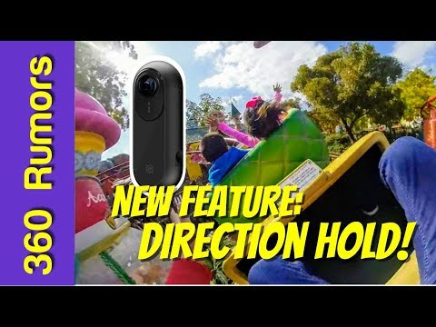 Insta360 One with Direction Hold! (Flowstate Stabilization upgrade) - best camera for moving shots