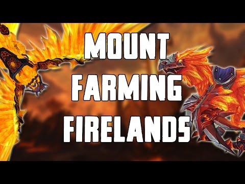 Solo Mount Farming Firelands Walkthrough/Commentary
