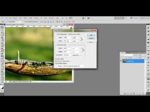 Editando tamanho da foto e dpi no Photoshop