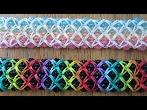 Rainbow Loom- Improved DuoAna Bracelet (Original Design)