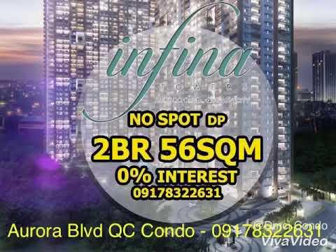 Dmci Quezon City Condo near Araneta Center Cubao - Infina Towers