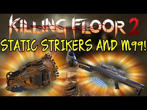 Killing Floor 2   STATIC STRIKERS AND M99! - These New Weapons Are Awesome! (Summer Update)