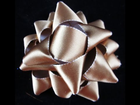 How to Make Your Own Gift Bows with Ribbon