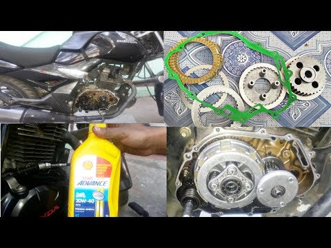 How To Change Clutch Plate/clutch plate problem bike /unicorn clutch plate change /