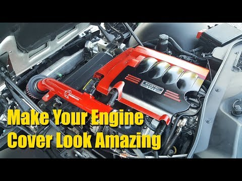 How to paint your engine cover