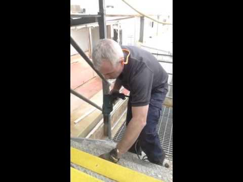 Stair Nosing Installation