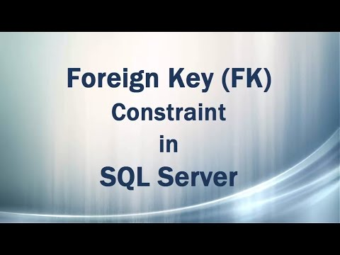 Foreign Key (FK) Constraint in SQL Server (Referential Integrity)
