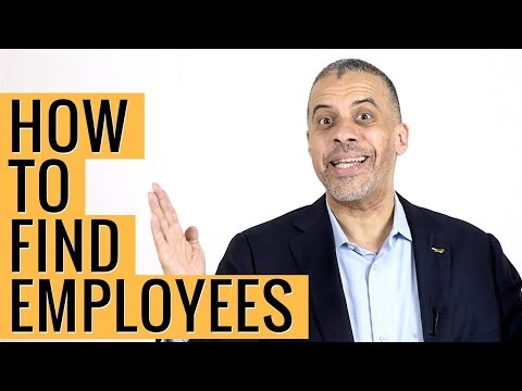 How to Find Good Employees TIPS by Larry Sharpe