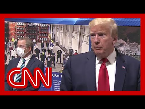 Trump says he won't wear a mask in front of cameras