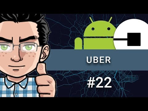Make an Android App Like UBER - Part 22 - Draw Route Between Two Points (Google Maps)