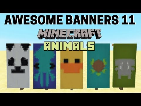✔ 5 AWESOME MINECRAFT BANNER DESIGNS WITH TUTORIAL! #11
