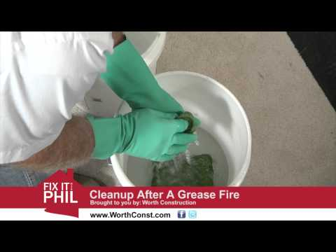 Grease Fire Cleanup by Worth Construction