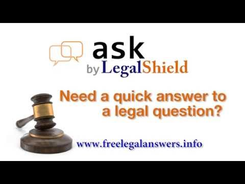 Free Legal Advice & Answers