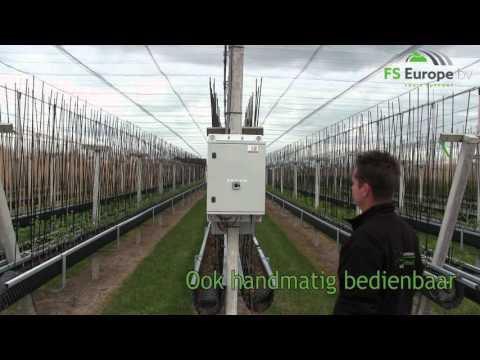Automatic anti hail net system