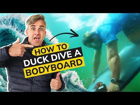 How To Duck Dive - Bodyboard-School
