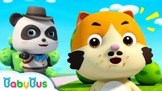 Who Took the Donuts? | Baby Panda Detective | Ice Creams, Hamburgers | Pretend Play | BabyBus