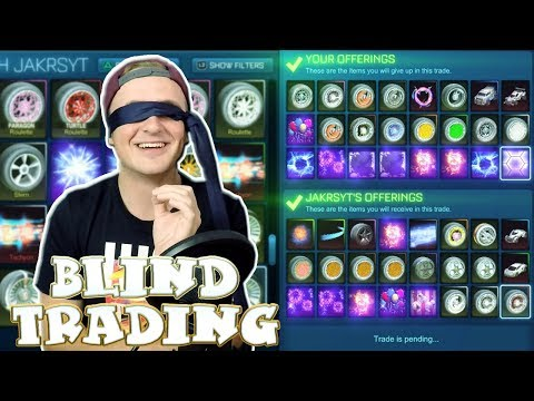 *I LOST WHITE ZOMBAS* | CRAZIEST BLIND TRADING ON YOUTUBE! |
