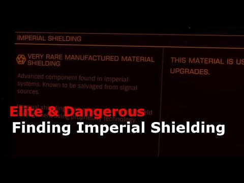 Finding Imperial shielding (Elite Dangerous)
