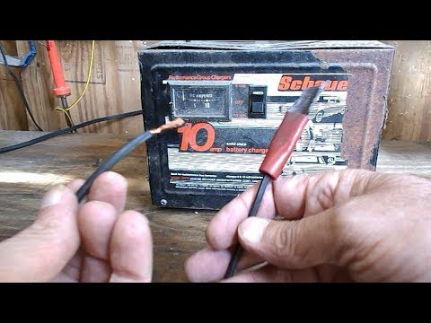 Battery Charger, Replacing Terminal Clamps
