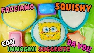 FACCIAMO SQUISHY CON IMMAGINI SUGGERITE DA VOI! Iolanda Sweets
