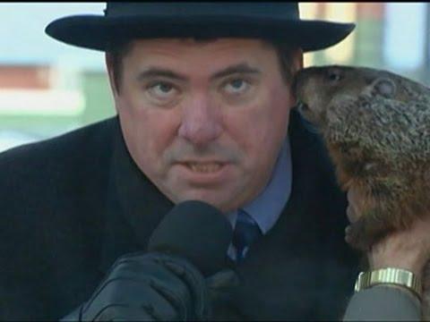 Groundhog Bites Wisconsin Mayor at Ceremony