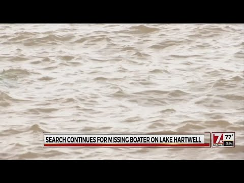 Search continues for missing Lake Hartwell boater