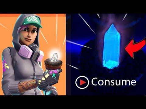 Edible GLOWING Fortnite Crystals! | Ann Reardon Battle Royale Hop Rocks