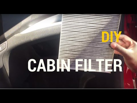 How To Change The Cabin Air Filter For 2014 Chevy Spark