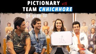Sushant Singh Rajput & Shraddha Kapoor have fun as they compete in Bollywood Pictionary