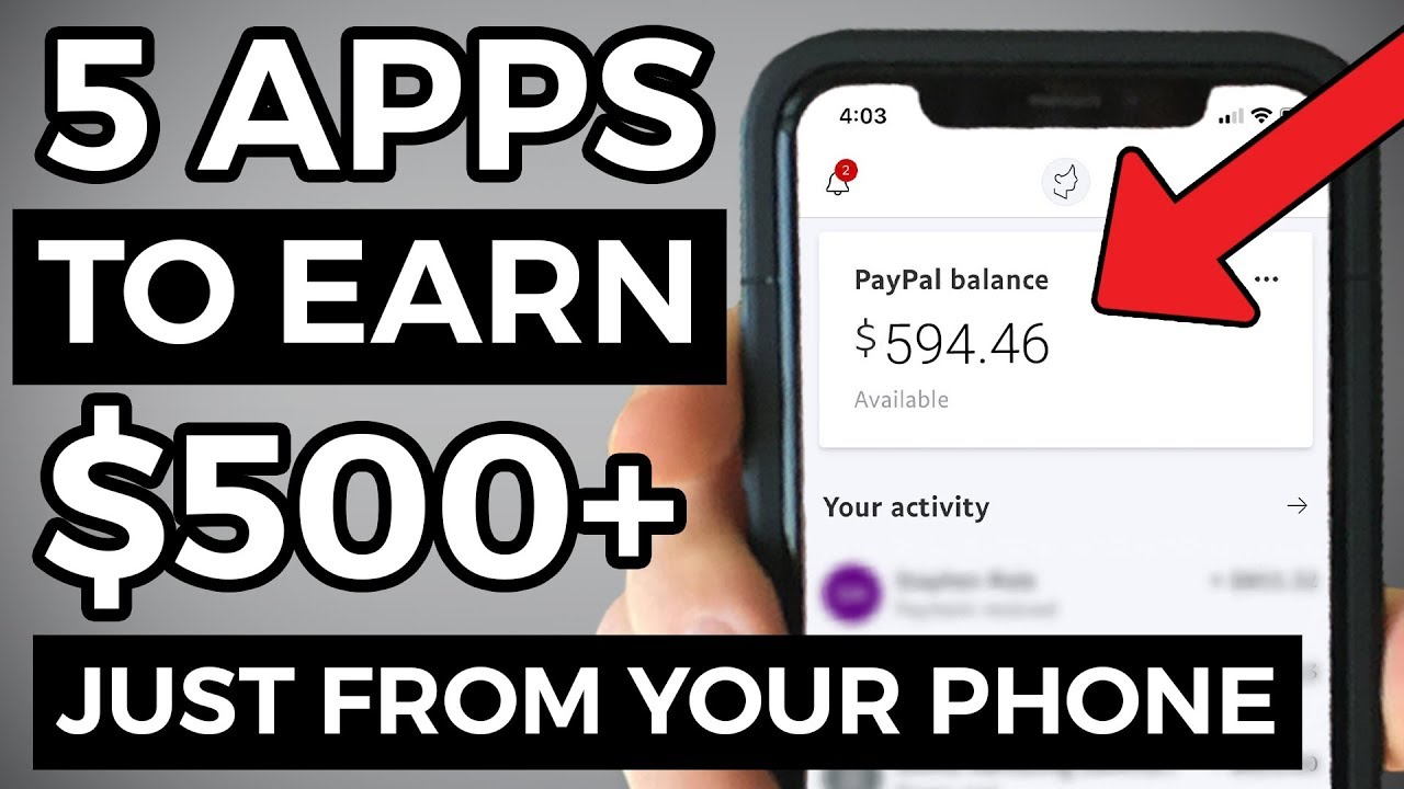5 BEST Apps To Make Money From Your Phone (2021)