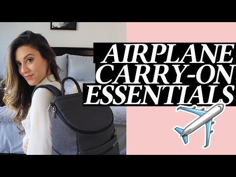 Airplane Carry-On Essentials and What's in My Travel Bag