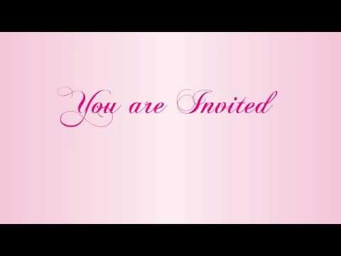 Invitation   Dinner Party