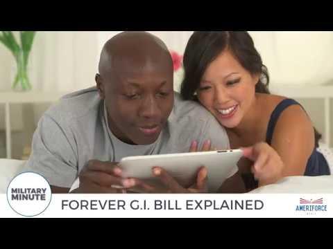Military Minute - The Forever GI Bill Explained