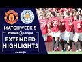 Manchester United V Leicester City PREMIER LEAGUE HIGHLIGHTS 91419 NBC Sports
