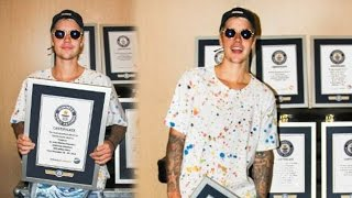 Justin Bieber Breaks 8 Guinness World Records for Purpose