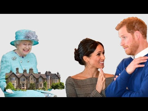 The Queen's wedding gift to Prince Harry and Meghan Markle