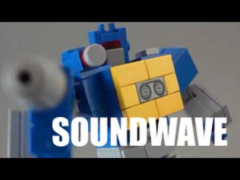 LEGO TRANSFORMERS - 『G1 Soundwave』